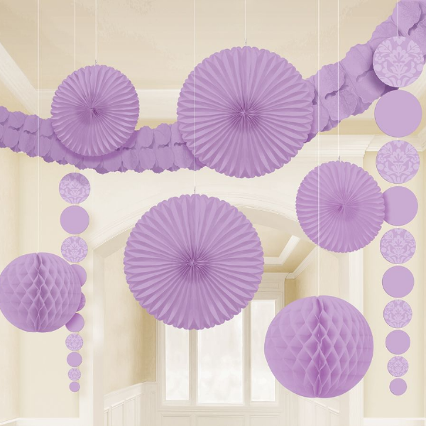 Party Decoration Kit -  Lilac